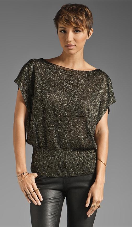 Celie Metallic Sparkly Pullover