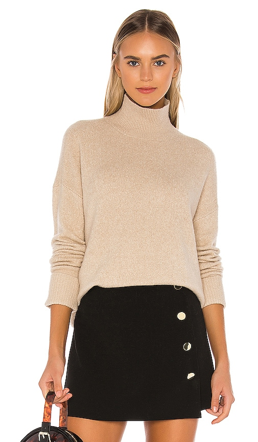 Feliz Turtleneck Oversized Pullover