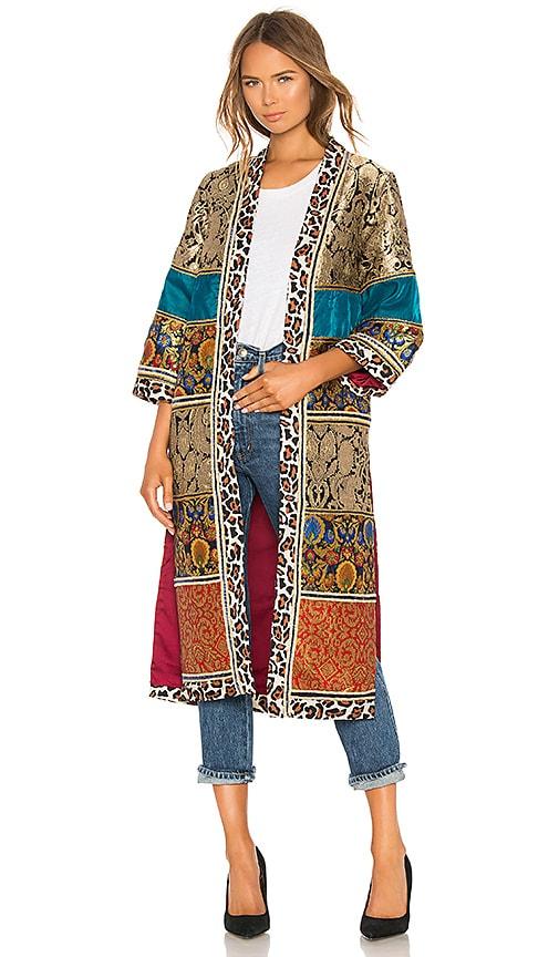 Lynn Patchwork Kimono