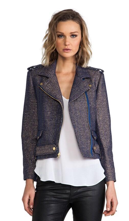 Kellen Cropped Army Zip Jacket