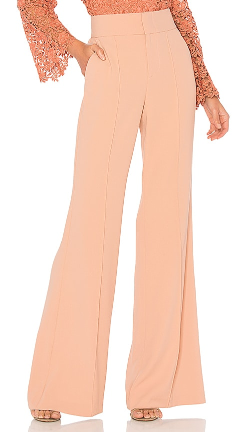 Alice + Olivia Dawn Pant in Pink