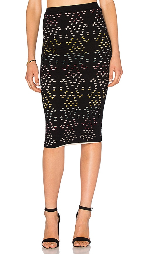 Alice + Olivia Ani Pencil Skirt in Black