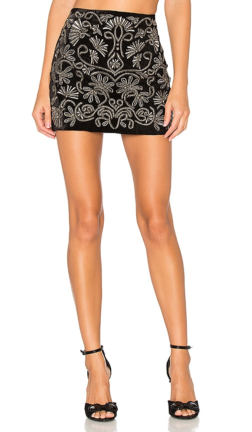 Elana Embroidered Skirt