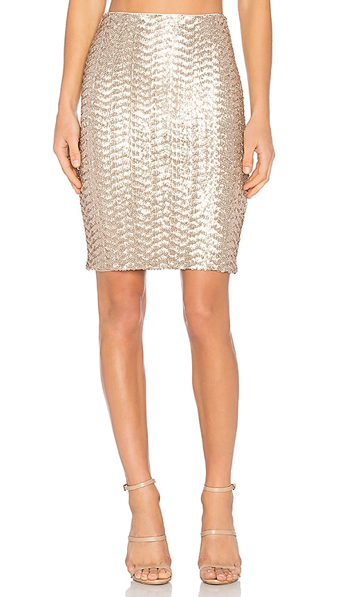 Ramos Sequin Midi Skirt