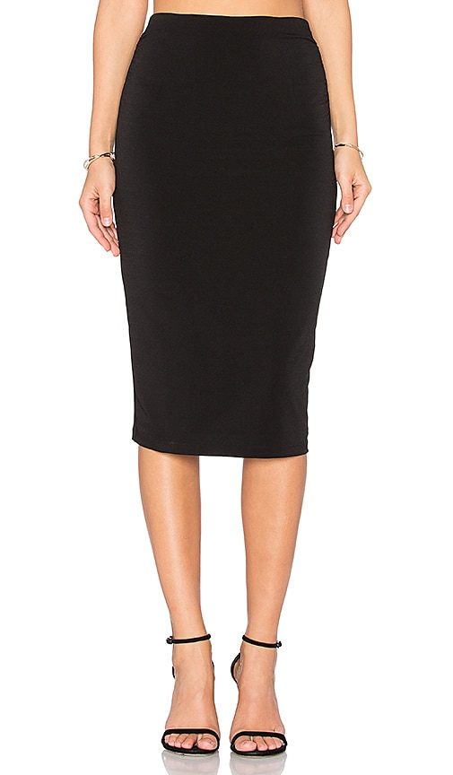 Alice + Olivia Ciera Pencil Skirt in Black