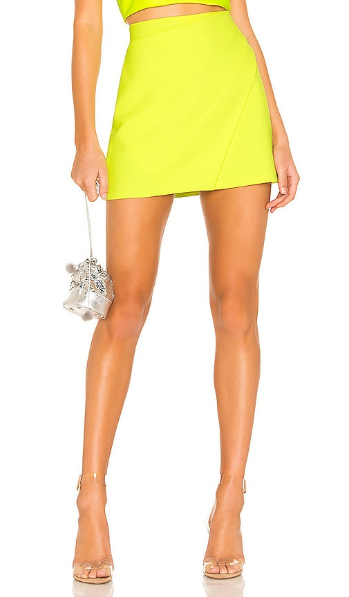 Shaylee Wrap Mini Skirt