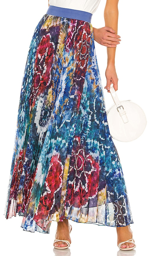Shannon Pleat Skirt by Alice + Olivia