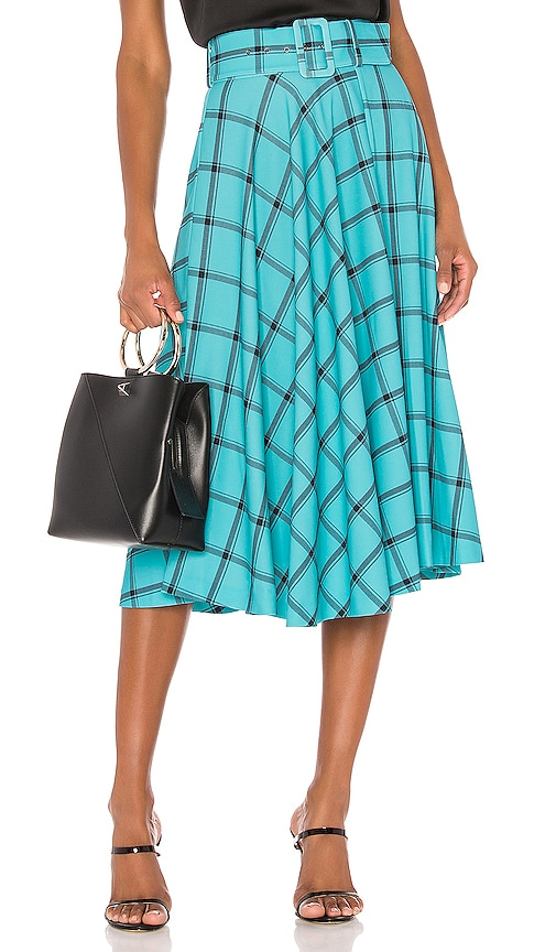 Parcell Flared Midi Skirt