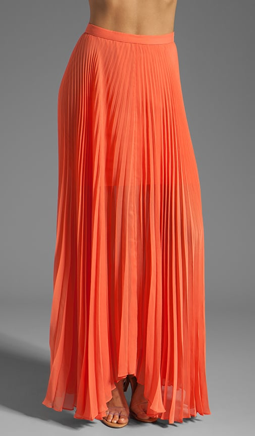Shannon Pleated Maxi Skirt