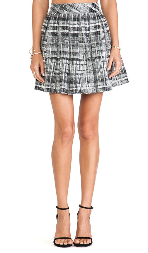 Kayla Box Pleat Skirt