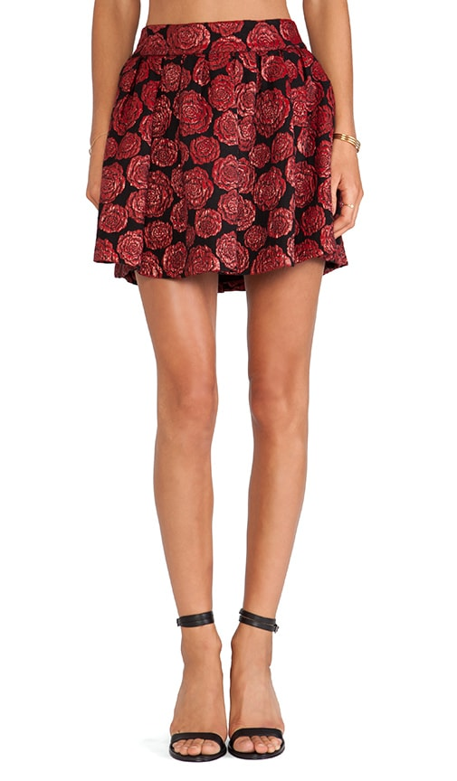Fizer Box Pleat Skirt
