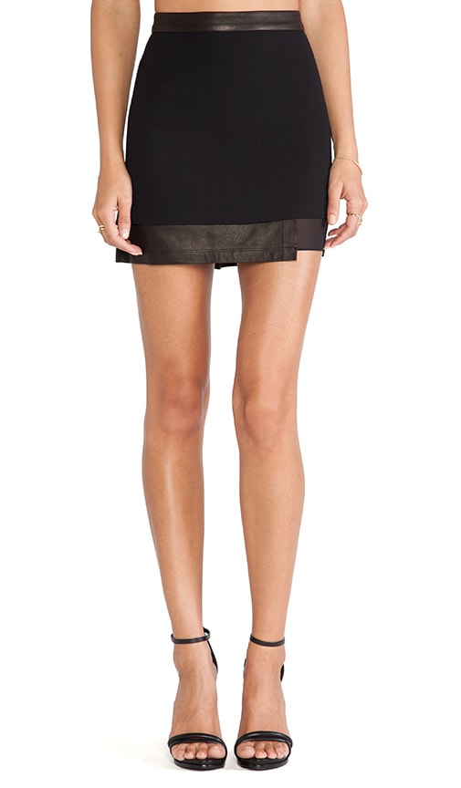 Andra Layered Mini Skirt