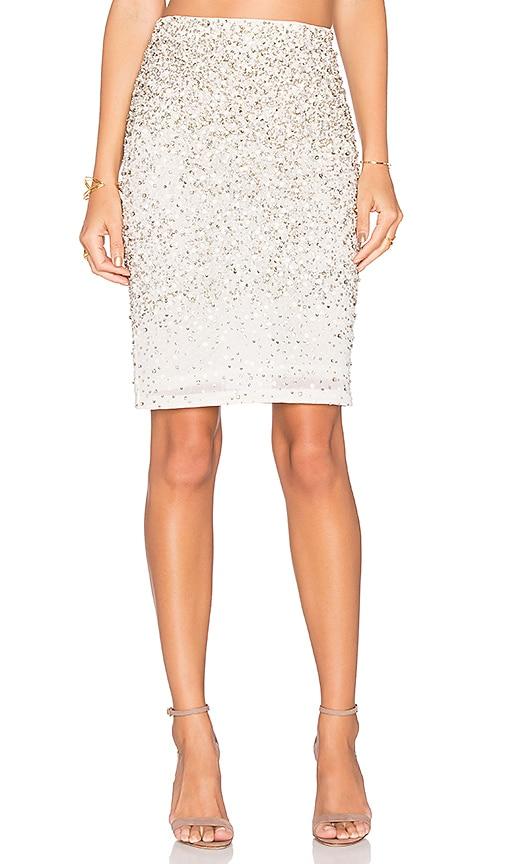 Alice + Olivia Ramos Skirt in Cream