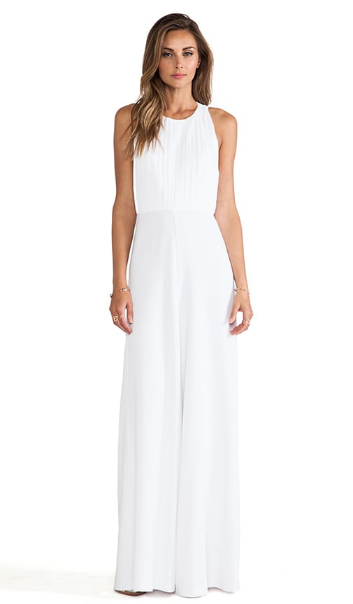 Gab Pleated Halter Jumpsuit