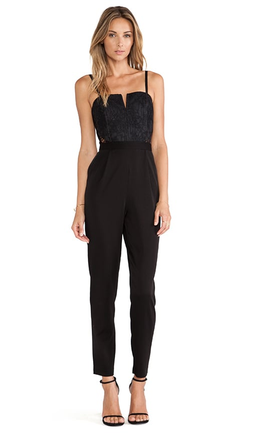 Structured Bustier Jumpsuit