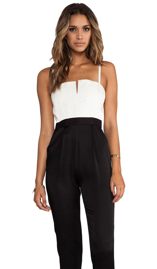 Arrow Tank Pleat Pant Jumpsuit