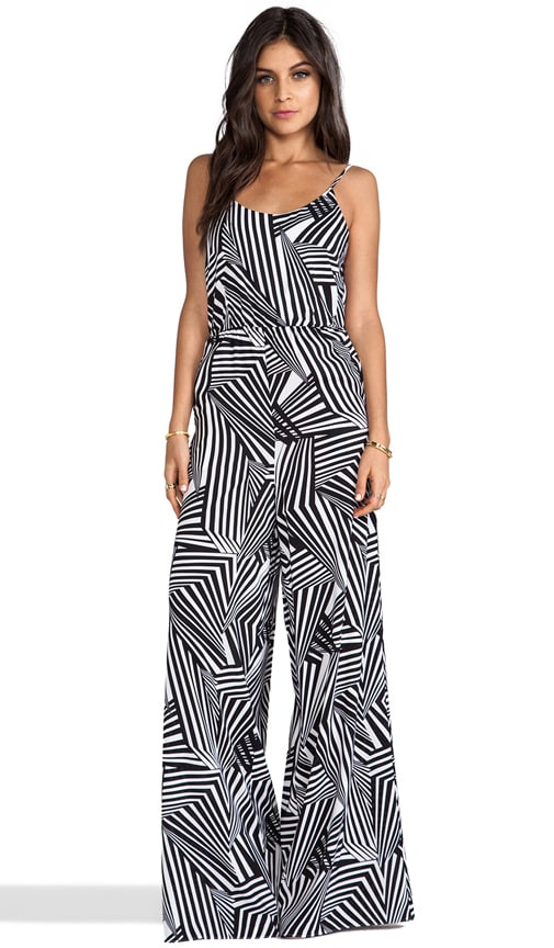 Liette High Waist Wide Leg Tank Jumpsuit