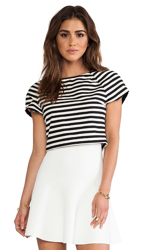 Connelly Striped Crop Top