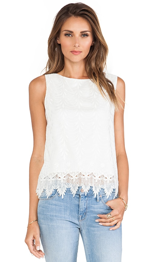 Anya Embroidered Tank Top
