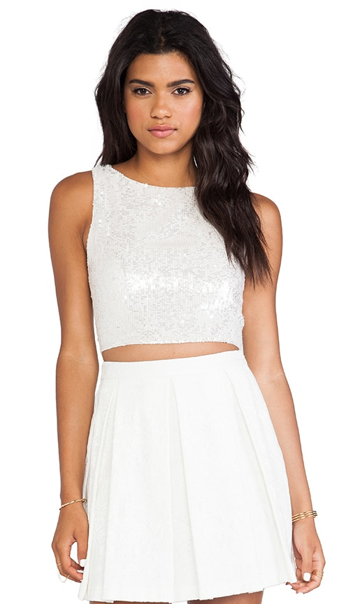 Pire Sleeveless Crop Top