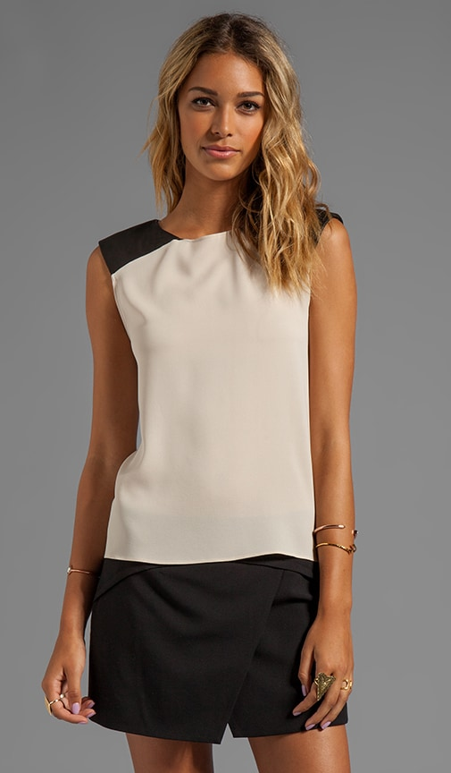 Leather Shoulder Muscle Tee