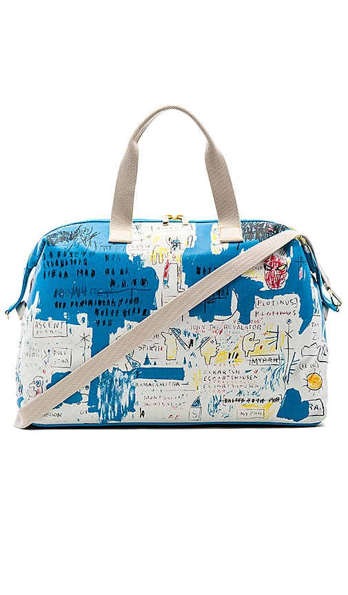 Alice + Olivia Basquiat Ascent Weekender Bag in Blue