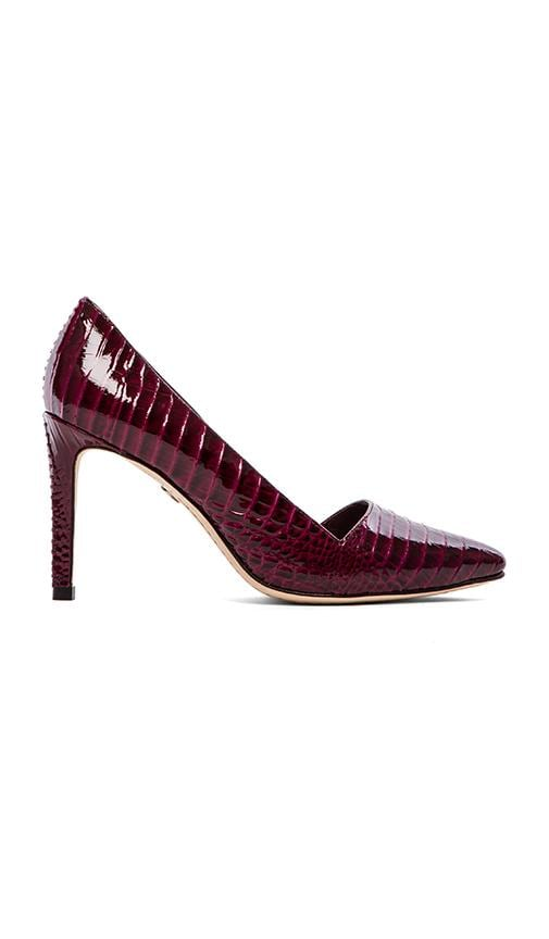 Dina Croc Embossed Pumps