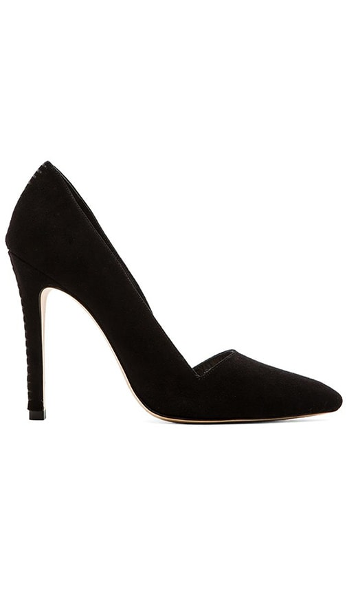 Alice+olivia Woman Helena Suede Pumps Black Size 35 Alice & Olivia