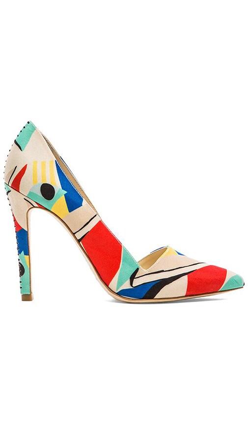 Dina Color Block Heel