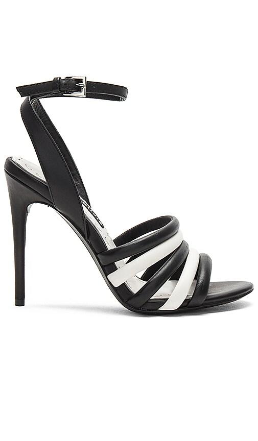 Alice + Olivia Thalia Heel in Black & White