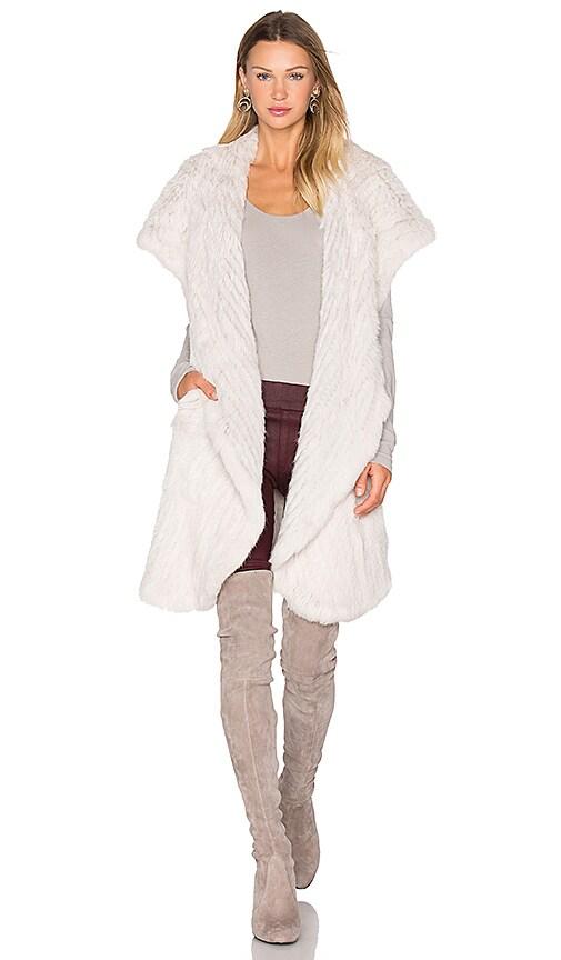 Mix It Up Rabbit Fur Vest