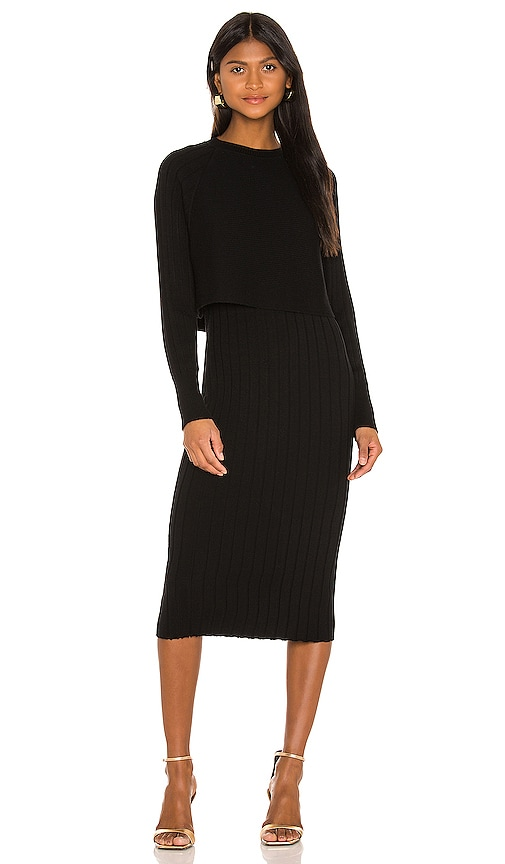 ALLSAINTS Tarun Dress in Black | REVOLVE