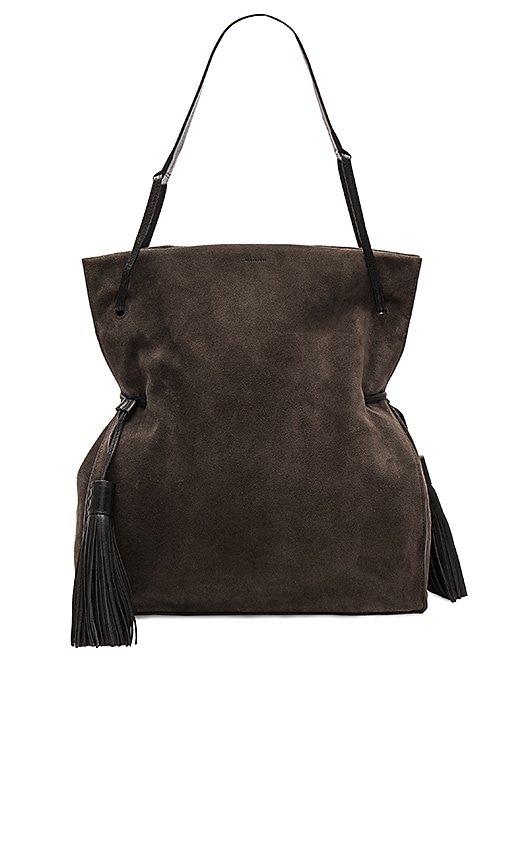 ALLSAINTS Freedom Hobo in Charcoal