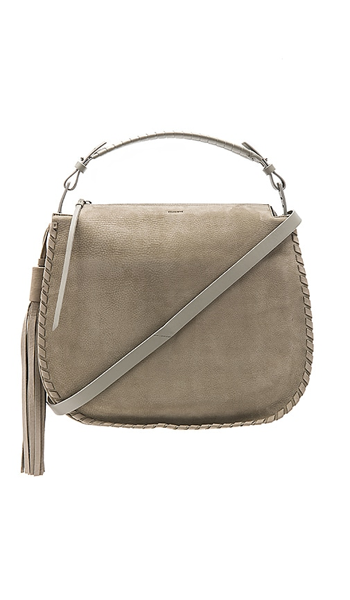 ALLSAINTS Mori Hobo in Gray