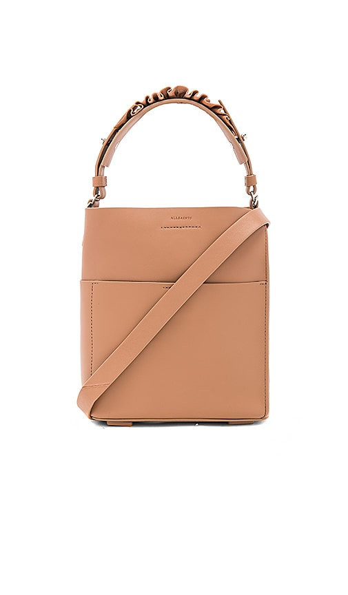 ALLSAINTS Maya Mini Tote in Tan