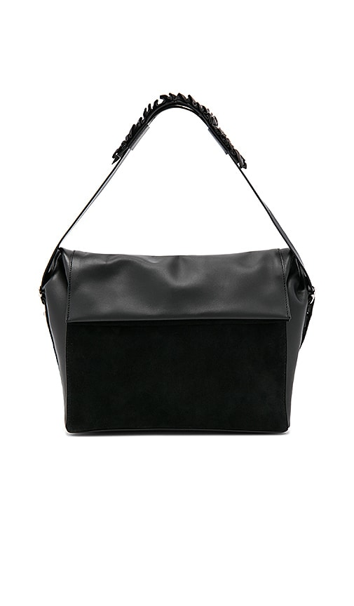 ALLSAINTS Maya Shoulder Bag in Black
