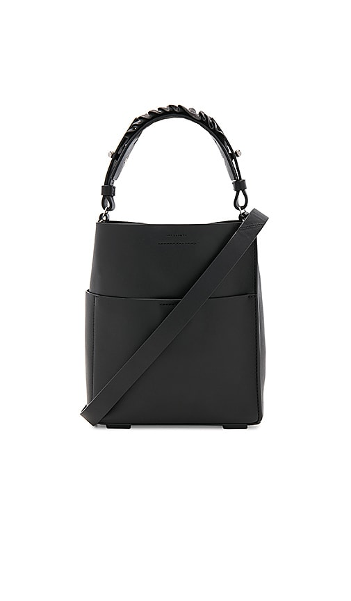 ALLSAINTS Maya Mini Tote in Black