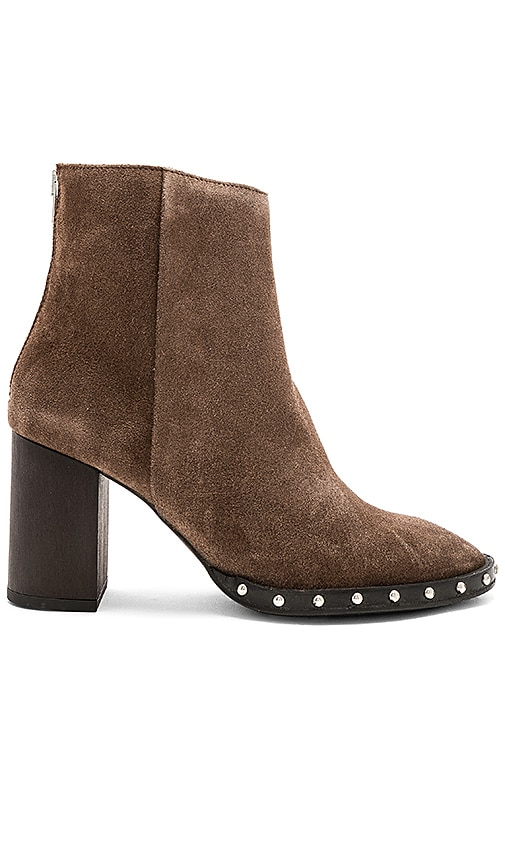 ALLSAINTS Inez Bootie in Brown