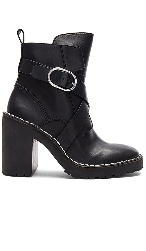 ALLSAINTS Aiko Bootie in Black