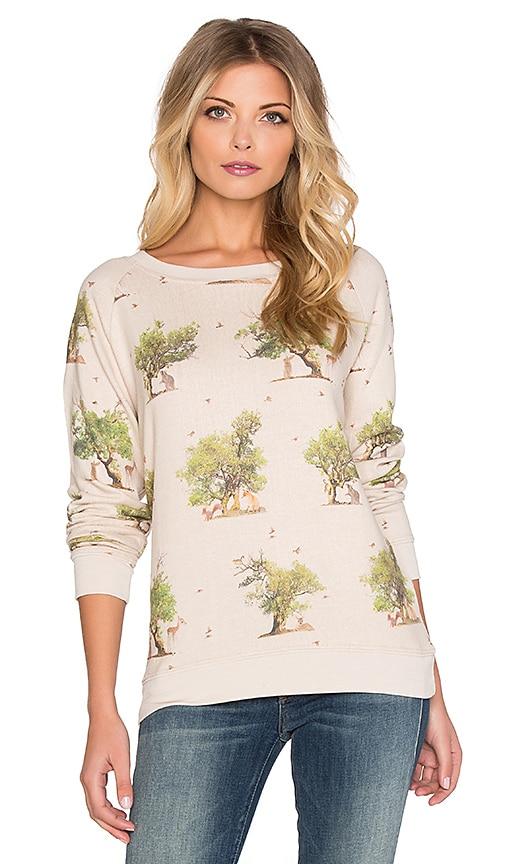 Leopard Tree Friends Cozy Sweatshirt