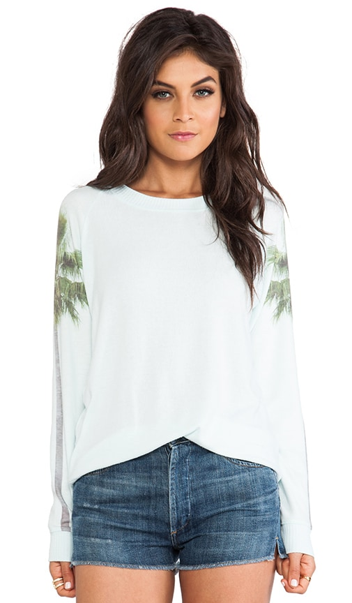 Palm Tree Cozy Sweatshirt