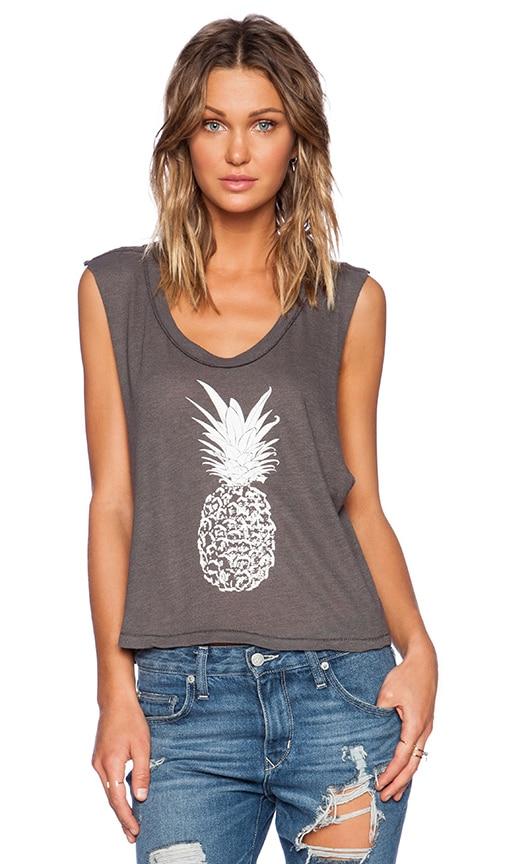 Pineapple Crop Muscle Tee