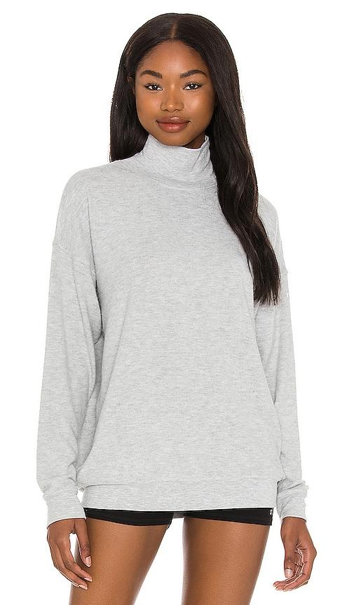 Alo Yoga Clothing SOHO MOCK NECK PULLOVER