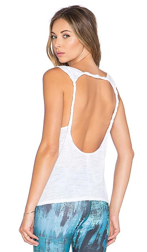 alo Twist Tank in White