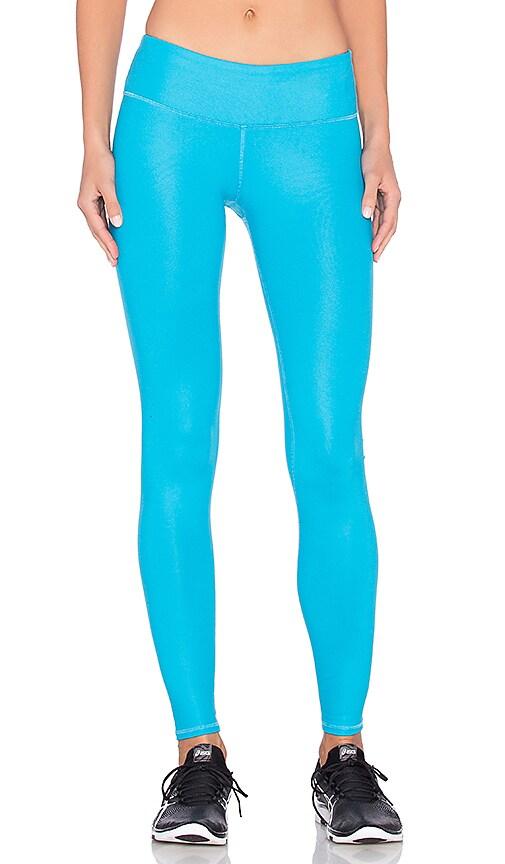 alo Airbrush Legging in Seaport Blue