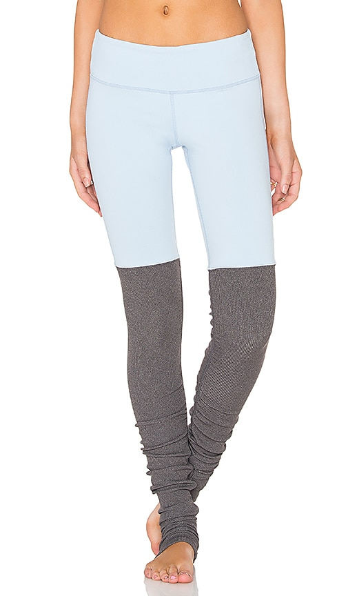 alo Goddess Legging in Light Blue
