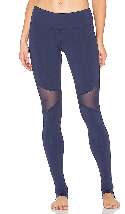 alo Coast Legging in Navy