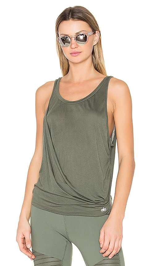 alo Passage Tank in Green