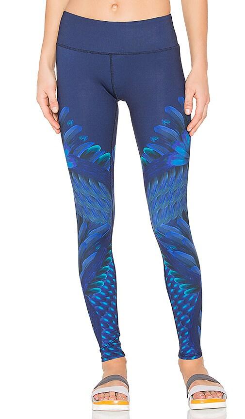 alo Airbrush Legging in Blue