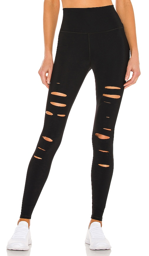 High Waist Ripped Warrior Legging